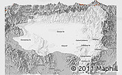Gray Panoramic Map of Tanai