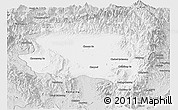 Silver Style Panoramic Map of Tanai