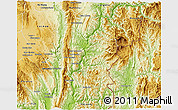 Physical 3D Map of Hsataw