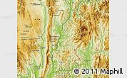 Physical Map of Hsataw