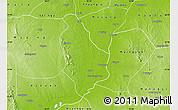 Physical Map of Yesagyo