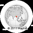 Outline Map of Yesagyo