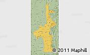 Savanna Style Map of Mandalay