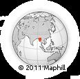 Outline Map of Meiktila