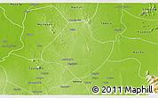 Physical 3D Map of Natogyi