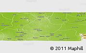 Physical Panoramic Map of Natogyi