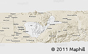 Classic Style Panoramic Map of Patheingyi