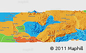 Political Panoramic Map of Patheingyi
