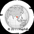 Outline Map of Kyaikto