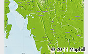 Physical Map of Thaton