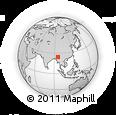 Outline Map of Banmauk