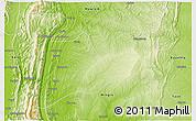 Physical 3D Map of Kalewa