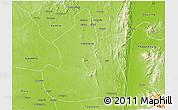 Physical 3D Map of Kanbalu