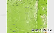 Physical Map of Kanbalu
