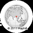 Outline Map of Kanbalu