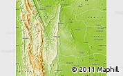 Physical Map of Kani