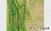 Satellite Map of Kani