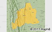 Savanna Style Map of Kani