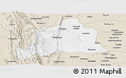 Classic Style Panoramic Map of Kani