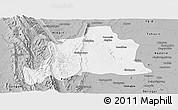 Gray Panoramic Map of Kani