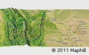 Satellite Panoramic Map of Kani