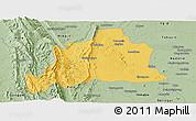 Savanna Style Panoramic Map of Kani