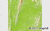 Physical Map of Katha