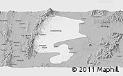 Gray Panoramic Map of Katha