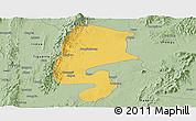 Savanna Style Panoramic Map of Katha