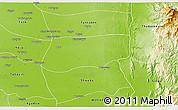 Physical 3D Map of Khin-U