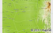 Physical Map of Khin-U
