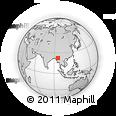 Outline Map of Khin-U