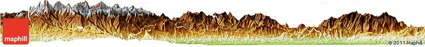 Physical Horizon Map of Lahe