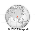 Outline Map of Lahe