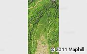 Satellite Map of Sagaing