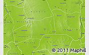 Physical Map of Myinmu
