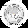 Outline Map of Myinmu