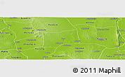 Physical Panoramic Map of Myinmu