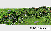 Satellite Panoramic Map of Nanyun