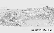 Silver Style Panoramic Map of Nanyun