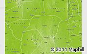 Physical Map of Ngazun