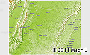 Physical 3D Map of Phaungbyin