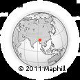 Outline Map of Phaungbyin