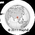 Outline Map of Pinlebu