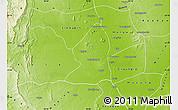 Physical Map of Salingyi