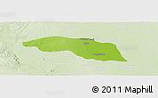 Physical Panoramic Map of Tabayin, lighten