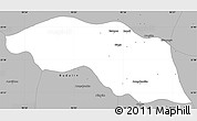 Gray Simple Map of Tabayin