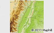 Physical 3D Map of Tamu