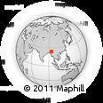 Outline Map of Tamu