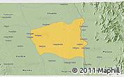 Savanna Style 3D Map of Wetlet